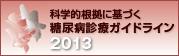 糖尿病診 療ガイドライン2013
