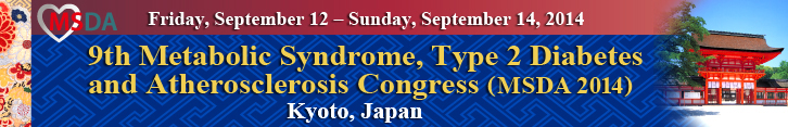 9th Metabolic Syndrome, Type 2 Diabetes and Atherosclerosis Congress