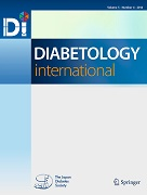 Diabetology International Cover