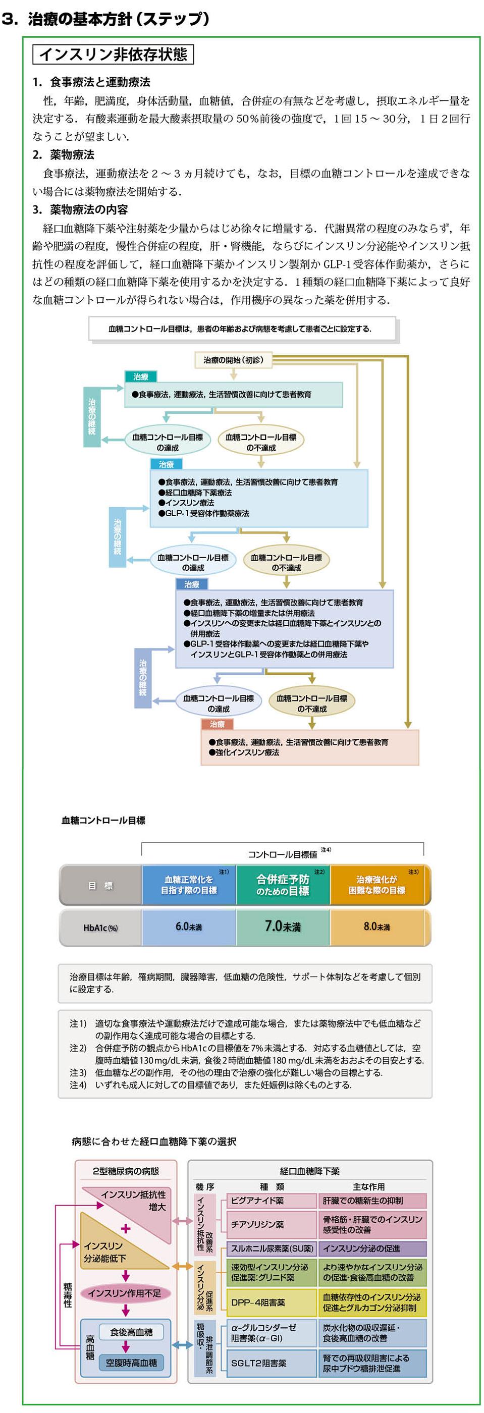 糖尿病治療ガイド2014-2015(抜粋)[4]
