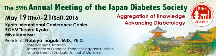 The 59th Annual Meeting of the Japan Diabetes Society